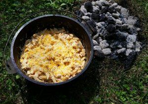 DUTCH Oven Buffalo Chicken Pasta