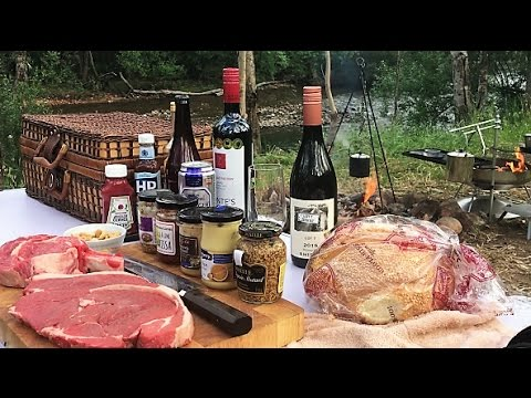 How To Cook Steak On The Campfire To Perfection With Chef Neil Colston