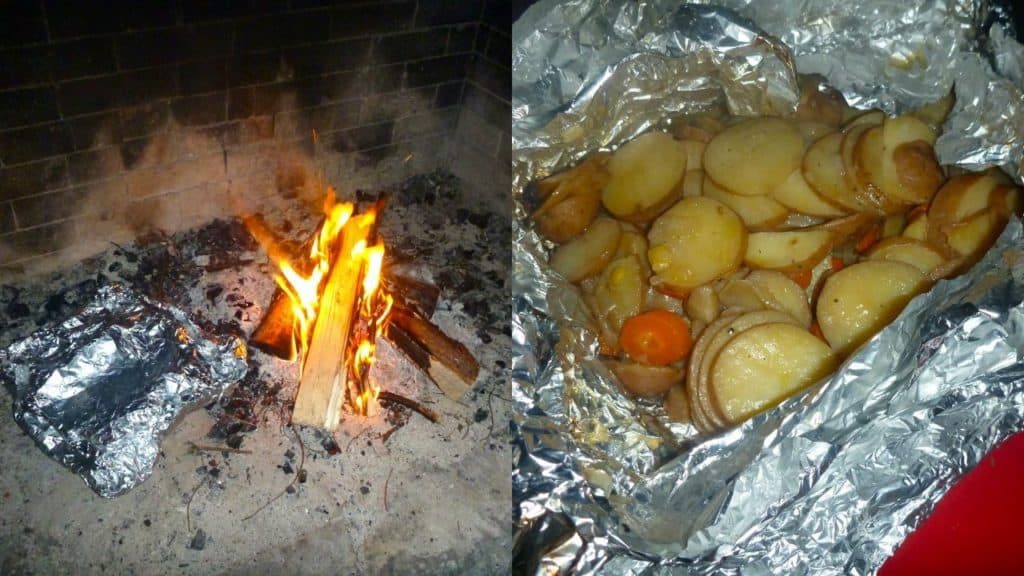 Campfire Baked Potatoes Recipe | By Victoria Paikin