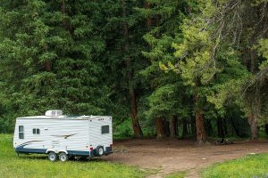 Boondocking in a Camper