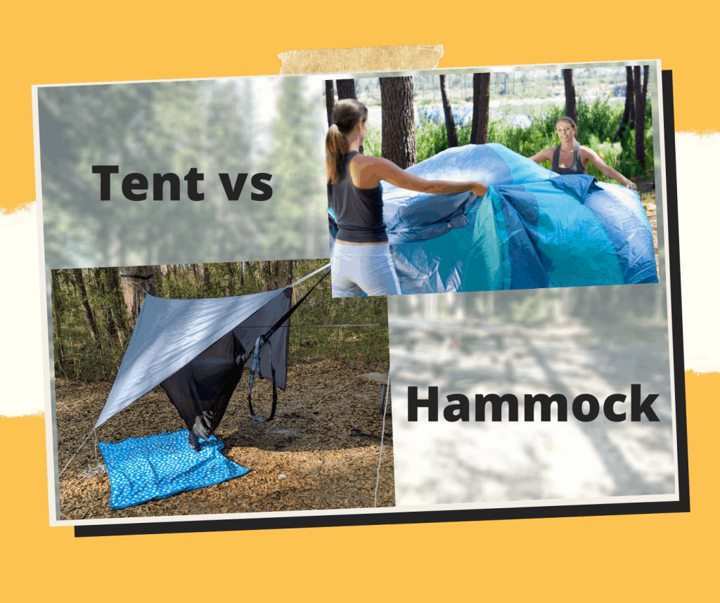 Tent vs Hammock Camping – Which is Right For You?
